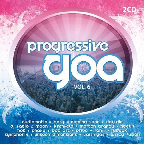 Compilation: Progressive Goa Vol 6 (2CDs)