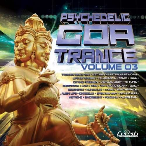 Compilation: Psychedelic Goa Trance Vol 3 (2CDs)