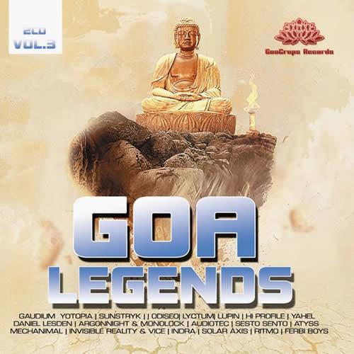 Compilation: Goa Legends Vol 3 (2CD)