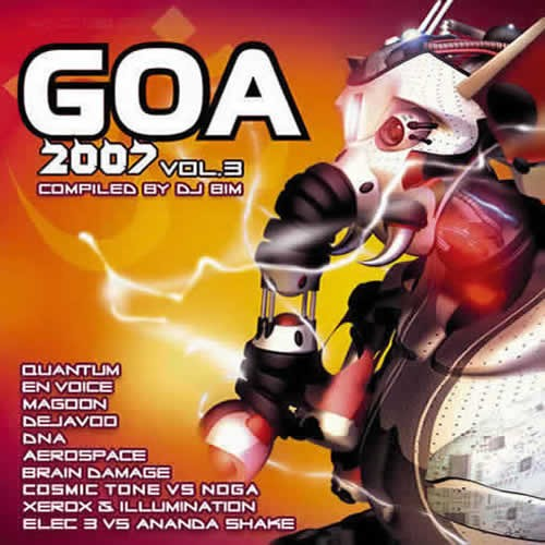 Compilation: Goa 2007 Vol.3 (2CDs)