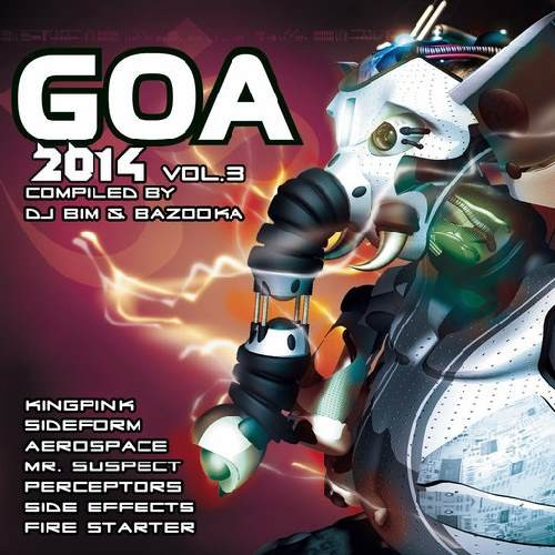Compilation: Goa 2014 - Volume 3 (2CDs)