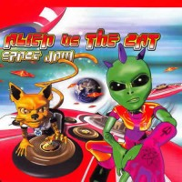 Alien Vs The Cat - Space Jam